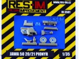 1/35 JAWA 50 20/21 PIONYR (resin kit)